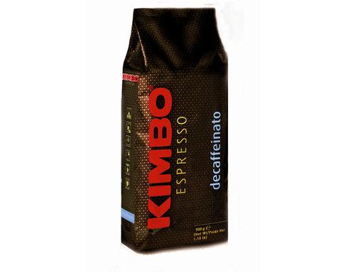 Кофе в зернах Kimbo Decaffeinato, 500 г