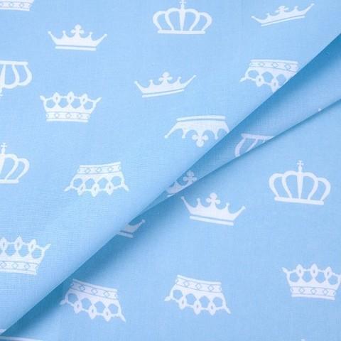 Бязь плательная 150 см 1694/3 цвет голубой
