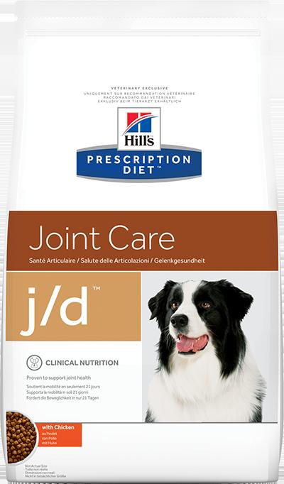 Сухой корм Ветеринарный корм для собак Hill`s Prescription Diet  j/d Joint Care, для здоровья суставов, с курицей жд.png