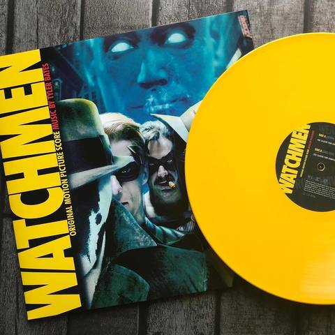 Виниловая пластинка. Watchmen. Original Motion Picture Soundtrack. Limited Yellow Vinyl