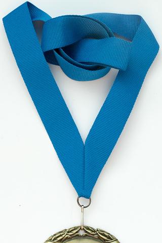 Лента для медали Синяя