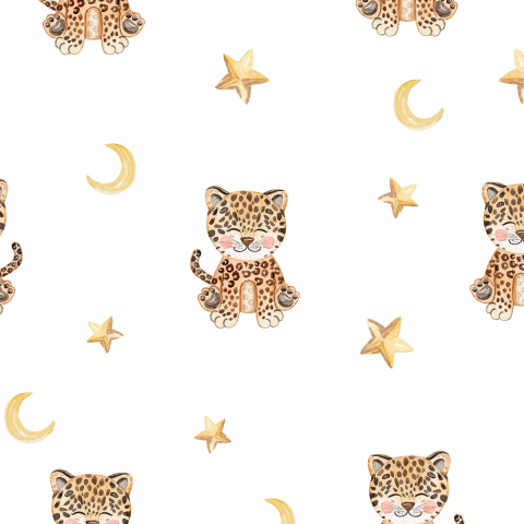 Леопард и звезды