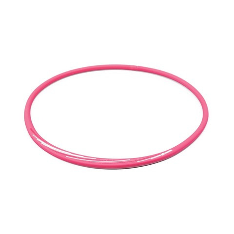 Ожерелье PHITEN RAKUWA NECKLACE S SLASH LINE, розово-белое