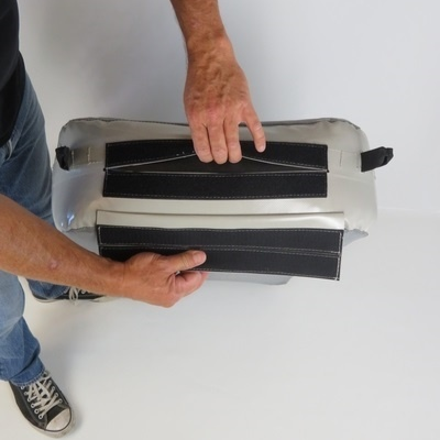 Certec flat inflatable fenders with cover