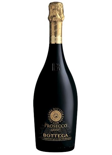 Вино Bottega Белое Игристое Просекко Брют Каса Боттега 11%, 0,75 л.