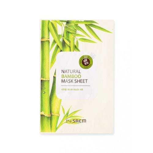 Маска тканевая с экстрактом бамбука THE SAEM Natural Bamboo Mask Sheet