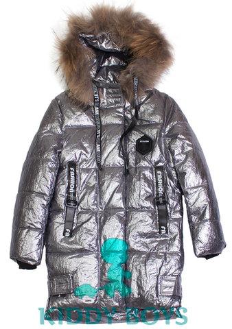 Удлиненная куртка для мальчика Silver Bee 818
