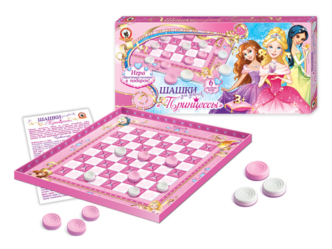 Игра настольная, шашки