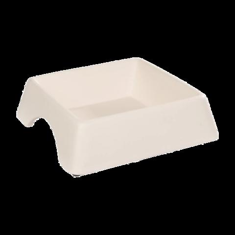 Beeztees Andes Миска для собак керамическая белая