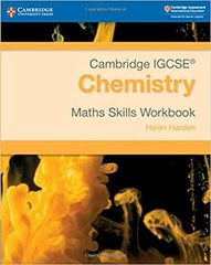 Cambridge IGCSE® Chemistry Maths Skills Workbook