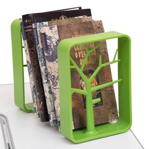 Держатели для книг Rifforma зеленый