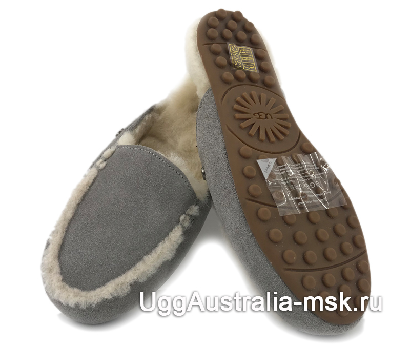 UGG Lane Slip - On Loafer Gray
