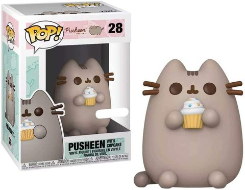 Pusheen with Cupcake Funko Pop! (Exc) || Кот Пушен с Капкейком