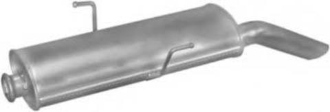 глушитель Peugeot 405 1.9i/MI16  87-92