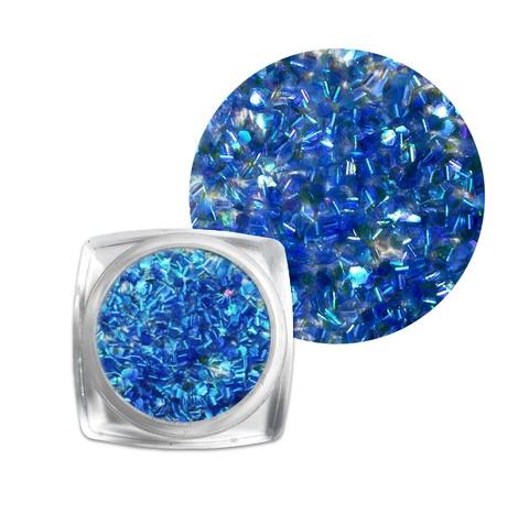 Чешуя для дизайна синяя купить за 150руб