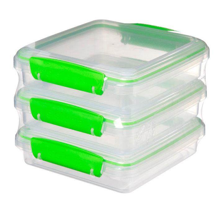 "Набор контейнеров для сэндвичей Sistema ""Fresh"" 450мл, 3шт."