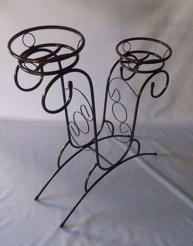 Подставка под цветы Горка на два горшка
