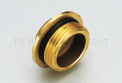 Заглушка с наружной резьбой, с уплотнительным кольцом для коллекторов  1