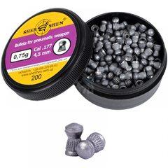 Пули пневматические Шершень 4,5 мм 0,75 г (200 шт)