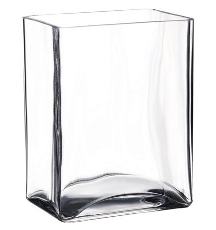 Ваза Прямоугольная ваза 14см Pasabahce Флора 80135