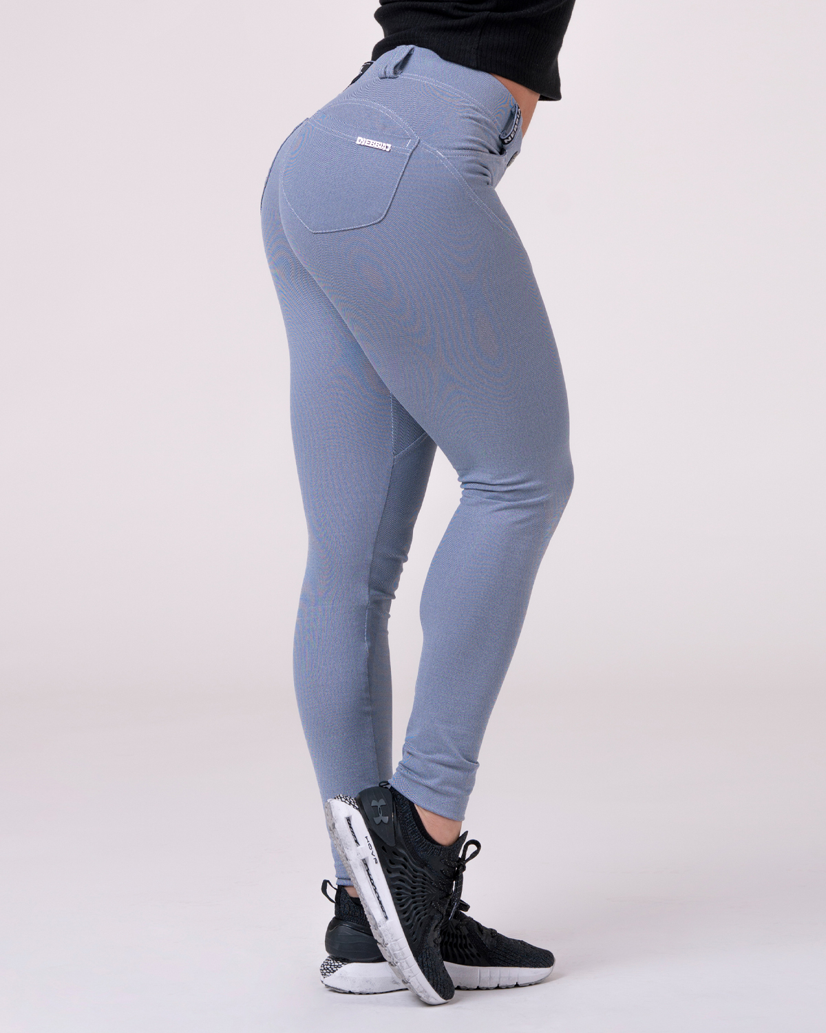 Брюки NEBBIA Bubble Butt pants 537 Light Blue