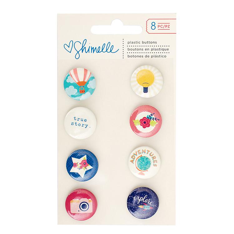 Мини фишки  Shimelle Starshine by American Crafts