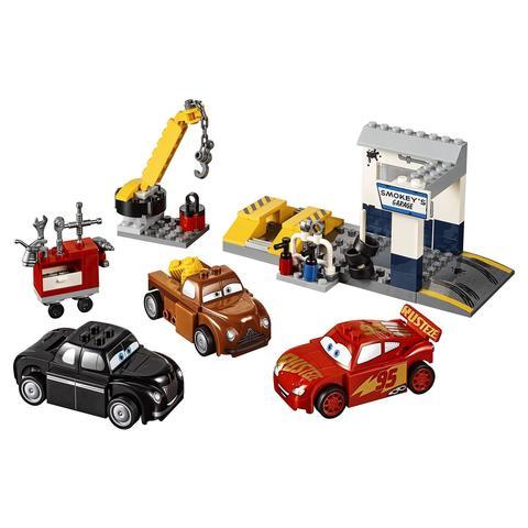 LEGO Juniors: Гараж Смоуки 10743 — Smokey's Garage — Лего Джуниорс Подростки