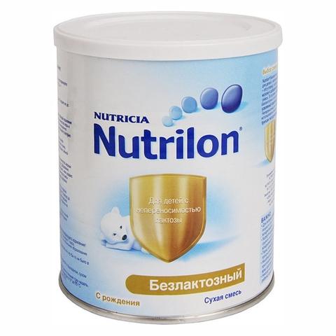 Смесь NUTRILON Безлактозный 400 гр Nutricia НИДЕРЛАНДЫ