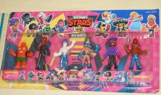 Набор Brawl Stars 6 шт 8 см