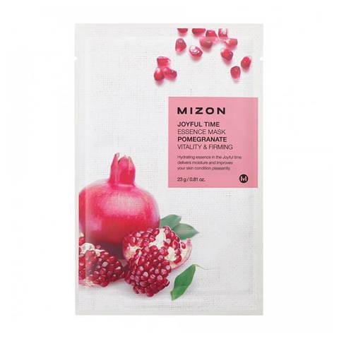 Mizon Маска тканевая для лица с экстрактом гранатового сока JOYFUL TIME MASK POMEGRANATE 1 шт.