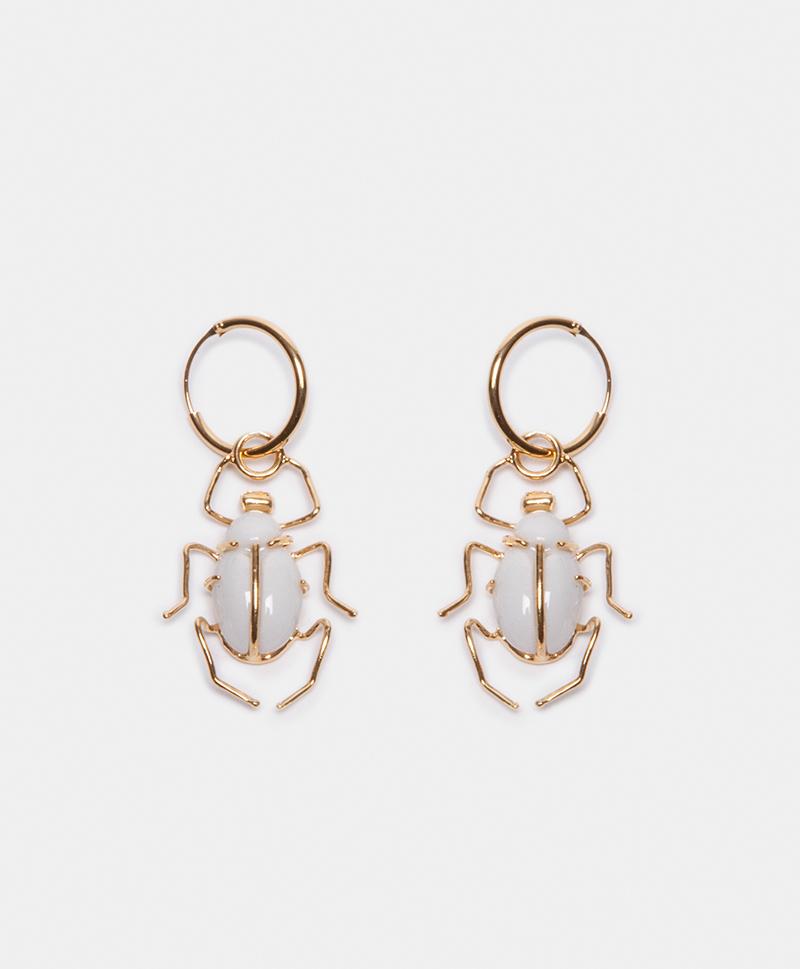 серьги-жуки