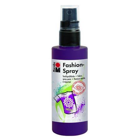 Краска-спрей для хлопка и льна Marabu-Fashion Spray 039 Баклажан