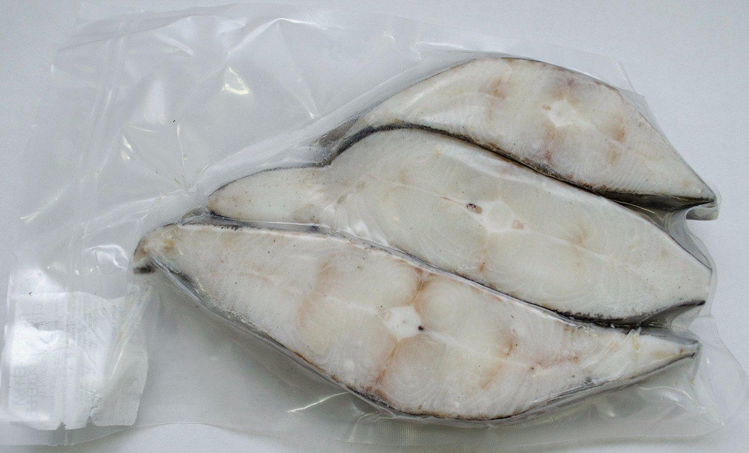 Стейк палтуса белокорого (коробка 5кг)