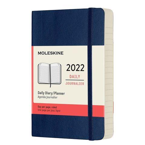 Ежедневник Moleskine (DSB2012DC2) Classic Soft Pocket 90x140мм 400стр. мягкая обложка синий сапфир