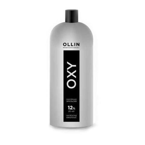 OLLIN oxy 12% 40vol. окисляющая эмульсия 1000мл/ oxidizing emulsion