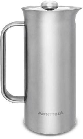 Термос френч-пресс Арктика (0,6 литра), стальной