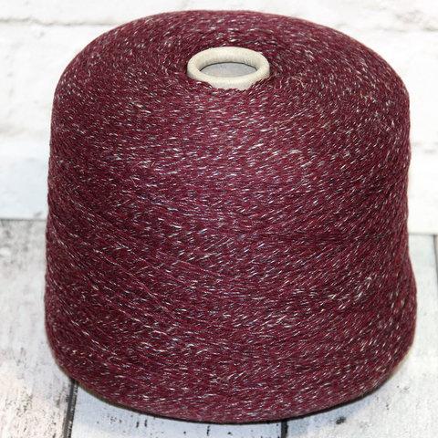 Смесовка с мериносом и льном MilleFili / IT WASNT ME 610 бордово-фиолетовый, мулине