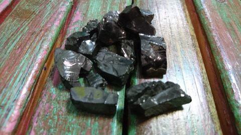 Шунгит для воды- элит 1-5 гр., 100 гр.