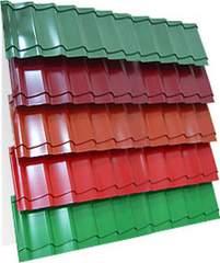 Металлочерепица (RAL 8017) коричневый шоколад 1190х2250х0,5мм (2,68м2)