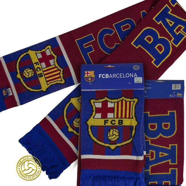 Шарф FC Barcelona жаккардовый №3