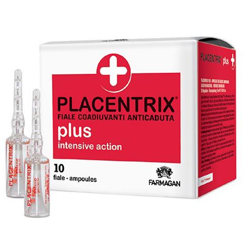 Farmagan Placentrix: Лосьон интенсивного действия против выпадения в ампулах (Plus Intensive Action Lotion), 10*10мл