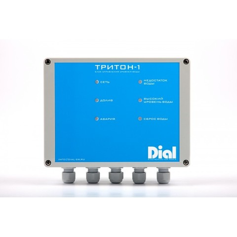 Блок управления уровнем воды ТРИТОН-1 Dial