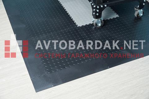 Пандус (завершающая плитка) 500 х 135 мм. Серый, толщина 7 мм.