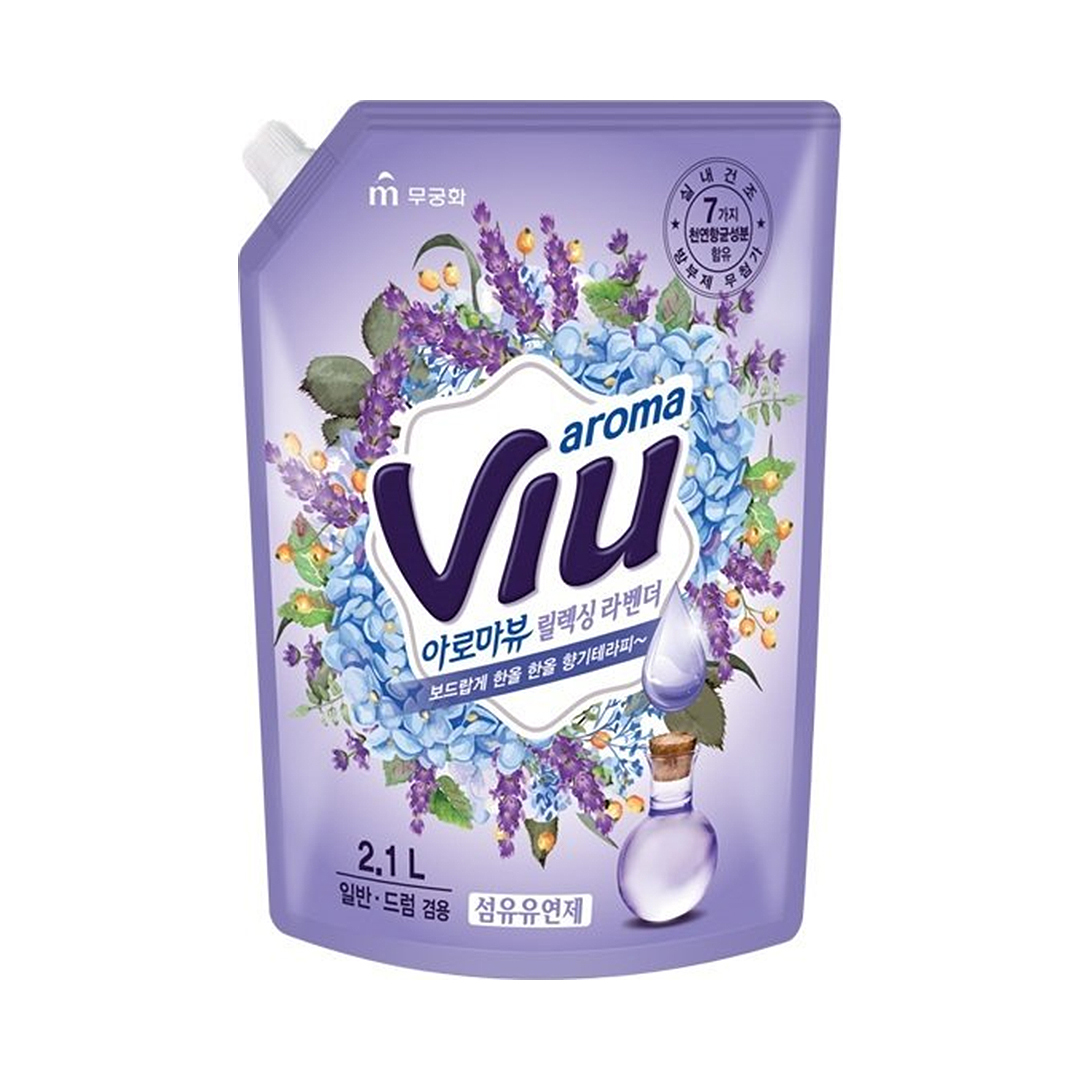 Mukunghwa Aroma Viu Mediterranean Lavender Антибакт. аромат. кондиционер средиземномор.лаванда 2,1л
