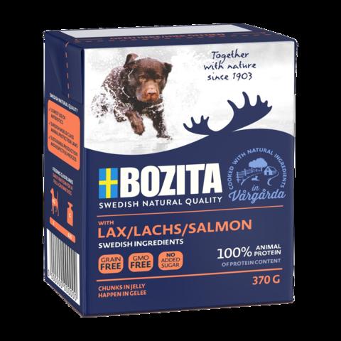 Bozita Naturals Salmon Консервы для собак с лососем (кусочки в желе)