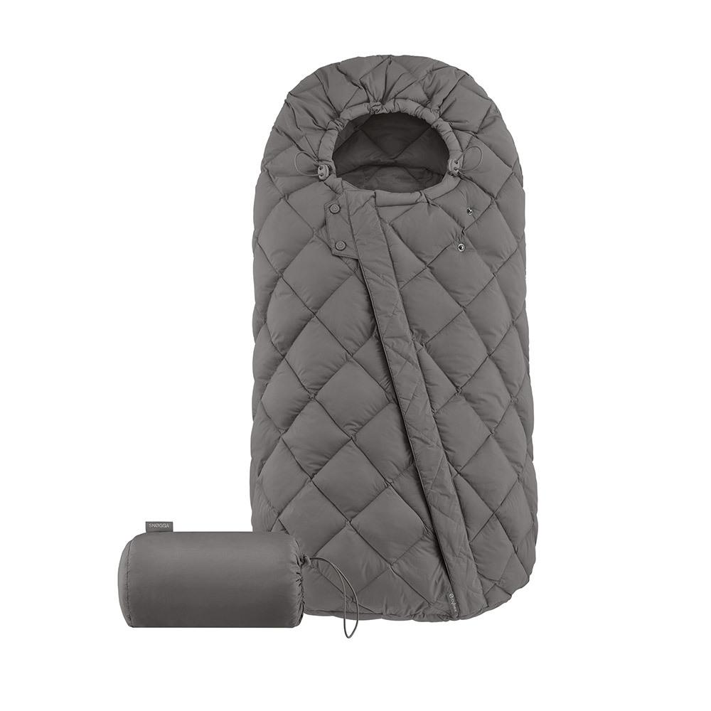 Теплые конверты для коляски Cybex Теплый конверт в коляску Cybex Snogga Soho Grey 10403_1_89-Sn-gga-Design-Soho-Grey.jpg
