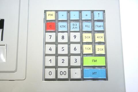 ЭКР 2102К-Ф клавиатура