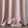 Комплект штор и покрывало Кенна розовый