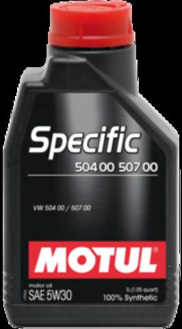 MOTUL SPECIFIС 504 00 / 507 00 5w30 Масло моторное