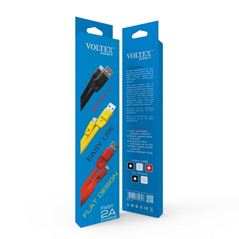 Кабель Voltex Iphone 5